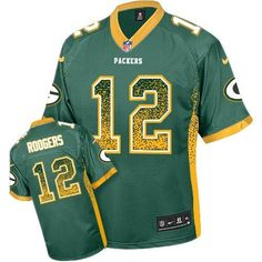 Aaron Rodgers Men's Stitched NFL Elite Drift Fashion Jersey