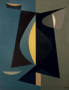 'Composition' (1958) by Jean Rets