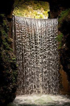 Mountain Waterfall, Trentino, Italy