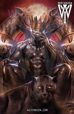 Black Panther (King of Wakanda) Black Panther Images, Black Panther King, Black Panther Marvel, Black King, Marvel Vs, Marvel Dc Comics, Marvel Heroes, Mundo Marvel, Wakanda Marvel