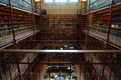 This is the Rijksmuseum research library - Amsterdam Liberal Views, Copenhagen Travel, Living In Amsterdam, Beautiful Architecture, Travel Abroad, Places, Pictures, Photos, Paradise