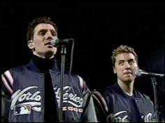 Nsync - Star Spangled Banner (National Anthem) 2000 World Series