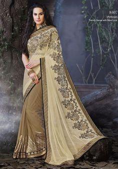 Hot Sari Bollywood Bridal Saree 8407 Partywear Sari Traditional women Wedding