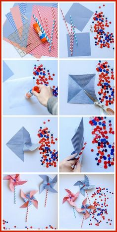 Easy Pinwheel Craft