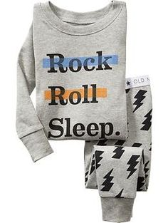 Shop cute and cozy baby boys' sleepwear from Old Navy. Find sleepwear separates in a range of styles. Toddler Boy Outfits, Toddler Fashion, Kids Outfits, Kids Fashion, Toddler Boys, Toddler Sleep, Disney Outfits, Baby Sleep, Baby Girl Pajamas
