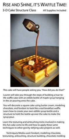 """""""Waffle's"""" Cake «CaKeCaKeCaKe»"""
