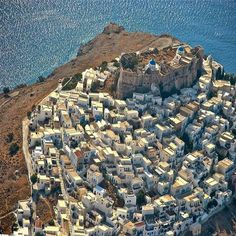 Astypalaia island, Greece - view from above