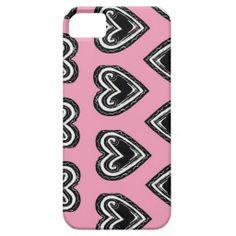 Hearts iPhone 5/5s Case; Abigail Davidson Art