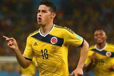 Rodríguez foi destaque da vitória da Colômbia sobre o Uruguai | #Copa, #Copa2014, #CopaDoMundo, #FIFA, #JamesRodríguez, #Maracanã, #MarianaJungmann