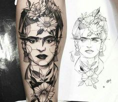 Frida Kahlo is an inspiration to women, and some people have chosen to  immortalize her via tattoos. Check out some badass Frida Kahlo tattoos (and  maybe get ...