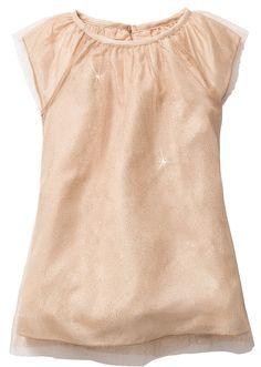 Voir:Jolie robe avec mancherons papillon. Joli effet pailleté et forme…