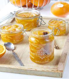 Appelsinmarmelade med kanel