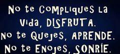 No te compliques!!!