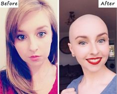 Shaved Heads, Bald Girl, Shaving, Hair Beauty, Shaved Head, Cute Hair, Close Shave