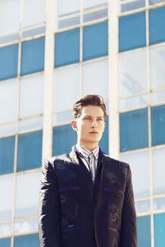 "Dmitry Brylev in ""Yellow Brick Road"" by Javi Dardo for Fashionisto Exclusive"
