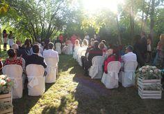 Matrimonio, rito civile in giardino. Presso Corte Dei Paduli, Reggio Emilia, Italy. www.deipaduli.org