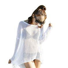 d40b6157f3 Pareo New Beachwear Cover Up White 2017 Sales Sexy Women Lace Crochet Bikini  Swimwear Beach Tunic Dr