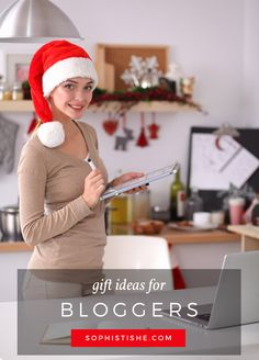Start planning ahead! - Holiday Gift Ideas For Bloggers