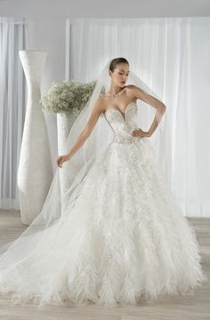 New wedding dresses ball gown tulle sweetheart bridal style Ideas 2016 Wedding Dresses, Wedding Dresses Photos, Country Wedding Dresses, Cheap Wedding Dress, Designer Wedding Dresses, Bridal Dresses, Wedding Gowns, Designer Gowns, Wedding Attire