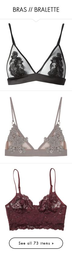"""""""BRAS // BRALETTE"""" by ox-eve-xo ❤ liked on Polyvore featuring intimates, bras, lingerie, underwear, tops, black lace lingerie, sheer lace lingerie, see through lace bras, lacy bras and black bra"""