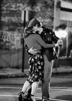The Notebook. I love this scene! I want my guy to dance with me in the street someday!