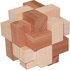 This wood puzzle looks like a good game but the down side is it could possibly be to hard to make and to try and get the wooden blocks perfect so there is no worrys with putting it together