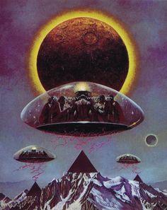 omni sci fi art - Google Search