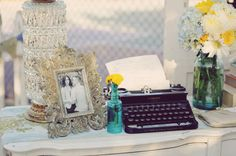 Something Borrowed | Friday Favorites {Inventory Inspiration}: Typewriters | http://somethingborrowedpdx.com