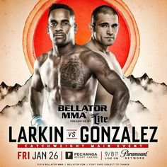It's #fight day #MMA fans! Check out the main card for #Bellator193 now and let me know what you think in the comments!   Lorenz Larkin @da_monsoon vs.  Fernando Gonzalez @menifeemaniac  Saad Awad @saadmma vs.  JJ Ambrose @Superjjambrose  Kendall Grove @kendallgrovemma vs.  AJ Matthews @aj_mma  for the third time in a row Gonzalez missed weight. He forfeits 20% if his purse to be split evenly between Larkin and the California State Athletic Commission. If victorious he forfeits the same…