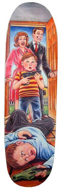 Guy Mariano, Accidental Gun Death, Blind Skateboards - Originally released...