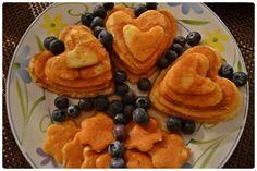 Pancakesy z borówkami amerykańskimi