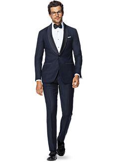 Suit Blue Plain Manhattan P4763 | Suitsupply Online Store
