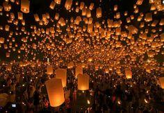 平渓天燈祭(天燈節)/台湾
