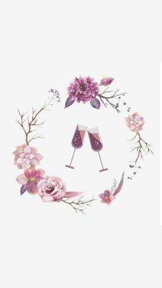 Instagram Logo, Instagram Design, Flower Backgrounds, Wallpaper Backgrounds, Rose Color Meanings, Rose Gold Aesthetic, Beauty Salon Decor, Image Paper, Insta Icon