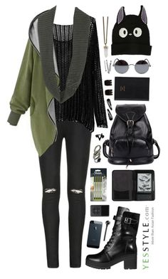 """""""Back to School Sale @ yessyle.com"""" by scarlett-morwenna ❤ liked on Polyvore featuring miim, Sharpie, Ally Fashion, Eloqueen, Una-Home, yeswalker, Cole Haan, Ghibli, Prada and Master & Dynamic"""