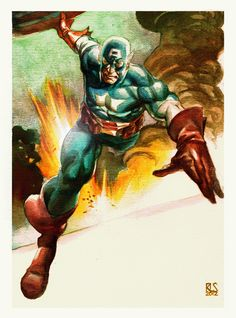 Captain America - Ron Salas