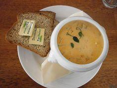 Chowder at Tara Hotel, Killybegs Ireland Travel, Cheeseburger Chowder, Restaurants, Soup, Meals, Recipes, Meal, Recipies, Ireland Destinations