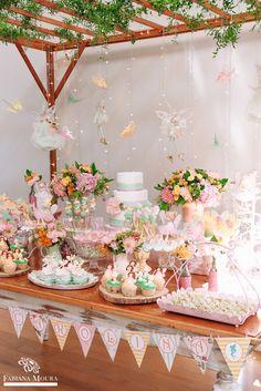 25 Popular Ideas For Woodland Fairy Birthday Party Cake Princess Birthday Party Decorations, Butterfly Birthday Party, Garden Birthday, Birthday Cake Girls, Unicorn Birthday Parties, Birthday Party Themes, Tinkerbell Party, Woodland Fairy, Party Ideas
