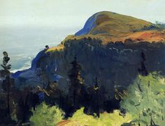 The Athenaeum - Hill and Valley (George Wesley Bellows - )