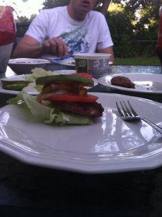 Venison Burger!