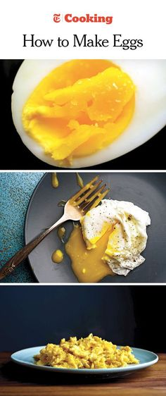 Learn how to put an egg on just about anything with our new comprehensive guide by Julia Moskin. (Photos by Karsten Moran for The New York Times)