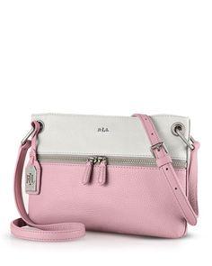 Ralph Lauren Crossbody - Meysey Color Block Handbags - Bloomingdale s f62c496e7d0ca