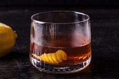 Vieux Carré! - This classic rye whiskey cocktail from New Orleans calls for Cognac, sweet vermouth, Bénédictine liqueur, Peychaud's Bitters, and angostura bitters.