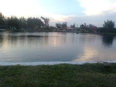 lago na praia de imbé rs
