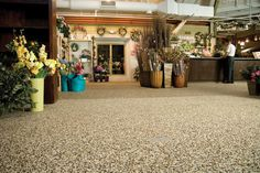 Tips on how to clean stone floors How To Clean Stone, Pebble Floor, Flower Center, Stone Flooring, Quartz Stone, Property Management, Sunroom, Cleaning, Floors