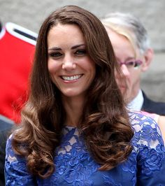 Kate Middleton's Best Hairstyles Pictures - Glossy Spirals - UsMagazine.com