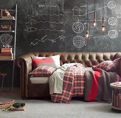 Afbeeldingsresultaat voor industriele slaapkamer