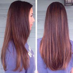 dark+bron+hair+with+caramel+highlights