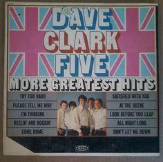 The Dave Clark Five More Greatest Hits LP 1966 Mono Epic LN24221 Vinyl Record  #dave #clark #five #1966 #record #album #vinyl #epic