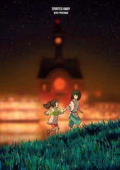 Spirited Away by HanamuraYosuke0